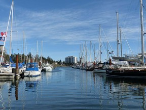 Many of Victoria's tourist attractions are along the inner harbour.