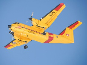 Buffalo Search and Rescue aircraft searched for Bill and Doug Rockcliffe in 1999 when their 42 foot commercial troller, the 'Ksan was overwhelmed by a storm off the coast of Vancouver Island.
