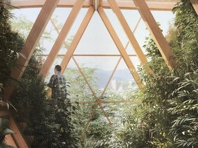 """Inside the Farmhouse Project, designed by Precht, celebrating the 'Wooden Renaissance', where """"concrete and steel are giving way to timber."""""""