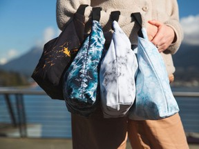 Designed and made in Vancouver, rü lunch bags are made of 90 per cent recycled materials.