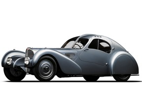 Although it was designed in the 1930s, this Bugatti Grand Tourer continues to inspire car makers today.