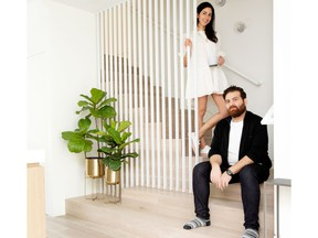 Designer Narges Afshar and builder Sam Lotfizadeh used a sleek style to make the most of the home's 1,800 square feet.