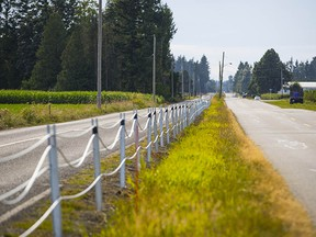 The Canada-U.S. border is the longest undefended border in the world, but a safety fence has gone up along 0 Avenue in the Abbotsford and Aldergrove area.