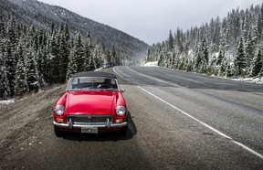 In this 2015 file photo, Driving contributor Brendan McAleer took part in the Hagerty Spring Thaw with his father, Aidan. The duo criss-crossed through B.C.'s beautiful landscape in a 1967 MGB.