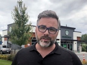Stephen Jagger, co-founder of Addy, a company that offers anyone over age 19 the chance to own a share in a commercial building in Chilliwack in a crowdfunding venture in real estate.