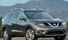 RCMP investigators say the burned vehicle is similar to this 2014 grey Nissan Rogue SUV.