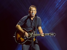 Columnist Jane Macdougall misses live entertainment, including three-hour Bruce Springsteen concerts.