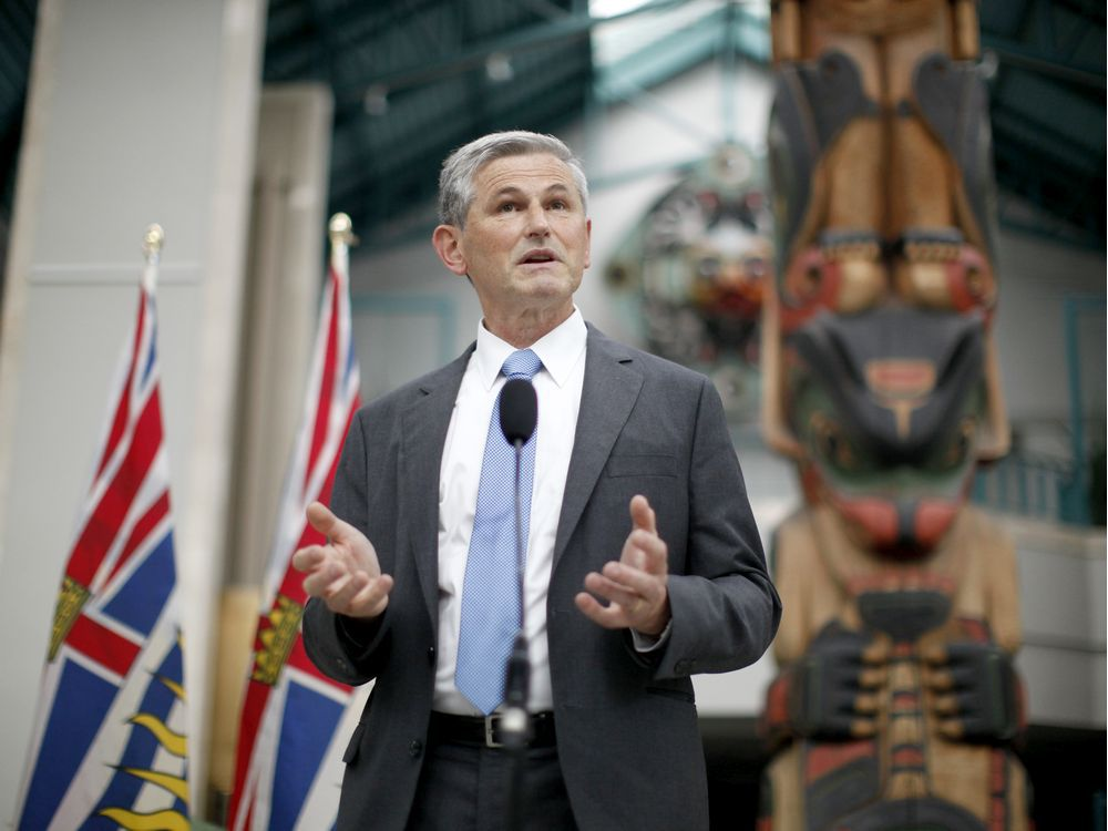 B C Election 2020 Logical Andrew Wilkinson Carries Liberals Hopes Vancouver Sun