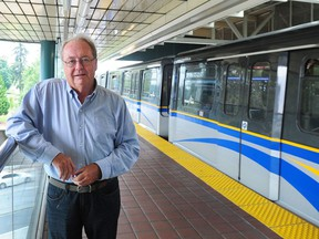 Surrey Mayor Doug McCallum is a supporter of the 16-kilometre Expo Line extension that will eventually run to 203rd Street in Langley. The extension replaces an originally planned 10.5-kilometre light-rail network. McCallum ran against that plan in Surrey's 2018 municipal election.