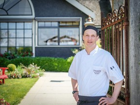 Chef Anthony Marzo of the The Teahouse.