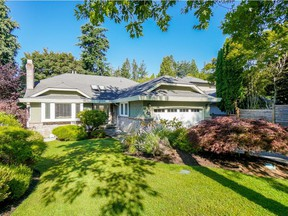This four-bedroom South Surrey rancher was listed for $1,388,000 and sold in two days for $1,340,000.