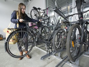 TransLink is conducting a bike parkade cleanout next month to ensure spaces are available for those actively cycling and using the transit system, and that abandoned bikes are donated.