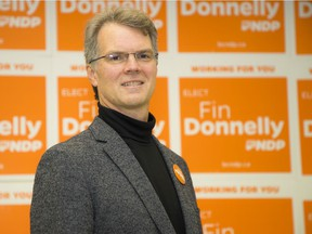 The NDP's Fin Donnelly.
