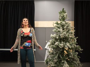 Melissa Oei plays Mary, an unlucky-in-love actor in the Arts Club's production of The Twelve Dates of Christmas, which runs from Nov. 19 to Jan 3 at the BMO Theatre Centre. It's available for streaming.