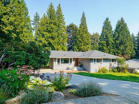 This spacious Coquitlam rancher recently sold for $1,504,000.