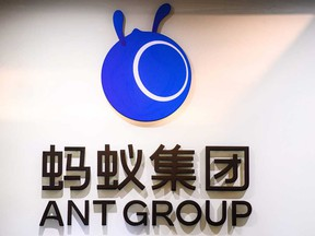 Ant Group, the financial arm of Chinese e-commerce giant Alibaba, was to go public on Thursday.