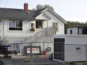 David Fitzpatrick has been charged with second degree murder in 2008 shooting death of James Groves that occurred at this residence on Timberland Road in Surrey.