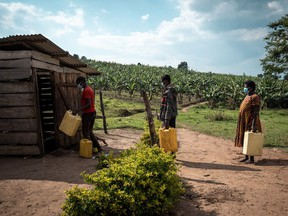 Water facilities in Uganda built with the support of Acts for Water, a B.C.-based charity.