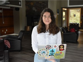 Haana Edenshaw, a 17-year-old student and environmental activist from B.C., is one of the 15 Canadian teenagers suing the federal government for inadequate action to address the climate crisis.