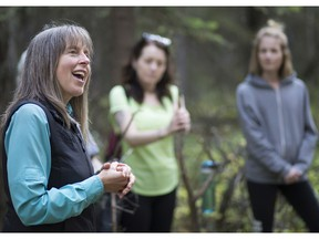 Ronna Schneberger is a nature therapist and chair of the Association of Nature and Forest Therapy Guides.