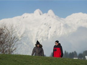 It's going to be sunny and cold today in Metro Vancouver, but snow is on the way tonight.