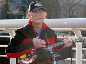 Edwin Padilla is a retired psychiatric nurse who busks to raise money for the poorest people in his hometown in the Philippines.