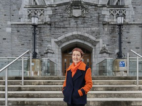 Helen Burt, a professor of drug delivery at the University of B.C.'s faculty of pharmaceutical sciences, was made an Officer of the Order of Canada in 2020 for her life-altering research on drug delivery systems, for her leadership at UBC and for her community engagement.