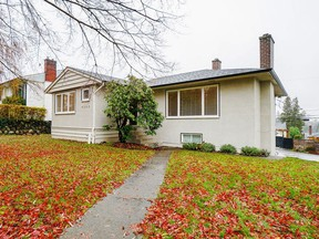 This Burnaby bungalow sold in early December for $1,544,000.
