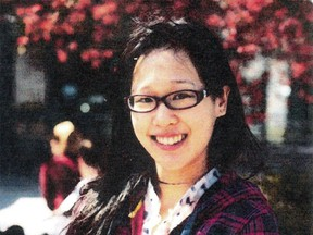 This undated image released by the Los Angeles Police Department shows Elisa Lam of Vancouver. Lam, 21, had been reported missing since Jan. 31, 2013. On Feb. 19, 2013, her body was found in a water tank on top of the Cecil Hotel in L.A.