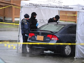 Homicide detectives have been called out to a Langley neighbourhood Wednesday morning to the scene of a fatal shooting.