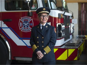 Karen Fry is the new Fire Chief for the City of Vancouver's Fire and Rescue Services.