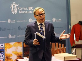 Jack Lohman, seen in 2014, has resigned as CEO of the Royal B.C. Museum.