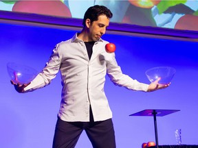 Vitaly Beckman. Vancouver-based magician who has fooled Penn and Teller twice on their show Fool Us.