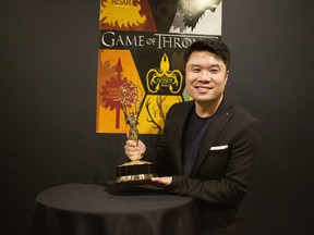 Mark Wong, an Emmy Award-winning BCIT animation program instructor.