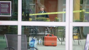 One person died and multiple people were taken to the hospital after a mass stabbing at the Lynn Valley Library in North Vancouver early Saturday (March 27, 2021) afternoon. North Vancouver RCMP said that