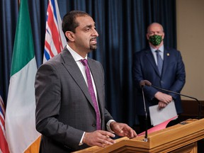 Jobs Minister Ravi Kahlon announced a $50-million relief grant for businesses affected by the March 30 health orders.