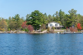 This island property in Port Severn is located on two acres on Georgian Bay Shore and is listed at $625,000. ROYAL LEPAGE IN TOUCH REALTY, BROKERAGE