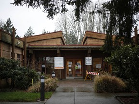 The Cowichan Tribes Administration office in Duncan. The First Nation faced discrimination during an outbreak of COVID-19 early this year, a continuation of a legacy of racism in health care in the region. A community leader says a new hospital will be part of the healing process.