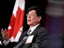 China's Ambassador to Canada Cong Peiwu in March 2020.