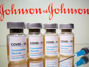 Doses of Johnson & Johnson vaccines.