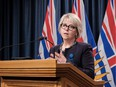 Provincial health officer Dr. Bonnie Henry.
