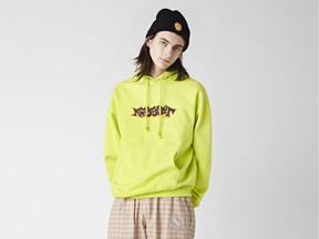 A model wears a look from Rassvet, which will be part of the Nordstrom Space x Dover Street Market Paris shop.