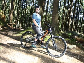 Tessa Black didn't think an e-mountain bike would impress her, but the North Shore rider had a blast on one of Rocky Mountain's purpose-built Powerplay e-bikes.