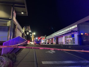One Brothers Keepers gangster was shot to death at Market Crossing in Burnaby May 13, 2021