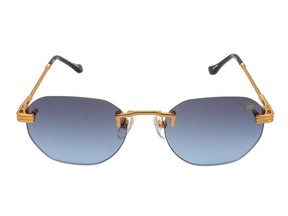Rebecca Tay presents five sunglasses that will have you blocking out those rays in style. VF Detroit Player' drill mount 24K gold sunglasses, $199.99 at Vintage Frames Company, vintageframescompany.com.