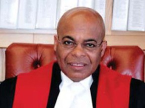 In 1995, Mr. Justice Selwyn Romilly became the first Black person to be appointed to the Supreme Court of British Columbia.