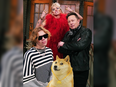 Elon Musk had helped drive the coin to new heights on Friday and Saturday after tweeting a picture of himself and a Shiba Inu, the dog breed that lends its image to the altcoin, on the set of the NBC show.