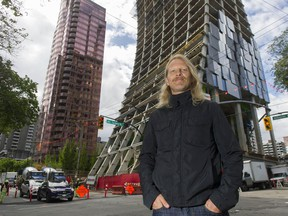 UBC architecture prof. Matthew Soules's book  illustrates the housing distortions that occur when a city becomes a key destination for the global rich. Developers in downtown Vancouver, around Georgia, are attracting investor capital by designing iconic condominium towers.