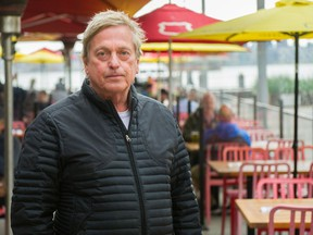 Ian Tostenson, CEO of the BC Restaurant and Foodservices Association, at a restaurant in North Vancouver.