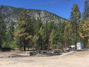 June 26, 2021 — The Chopaka Church, on the land of the Lower Similkameen Indian Band, was burned to the ground overnight. It is one of four Catholic churches on Indigenous land that have been torched in recent days.